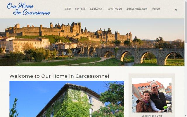 ourhomeincarcassonne.com