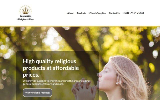 coronationreligiousstore.com