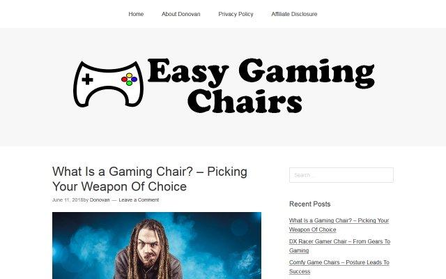 easygamingchairs.com