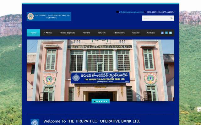 tirupaticoopbank.com
