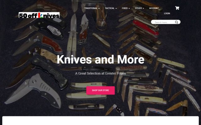 50offknives.com