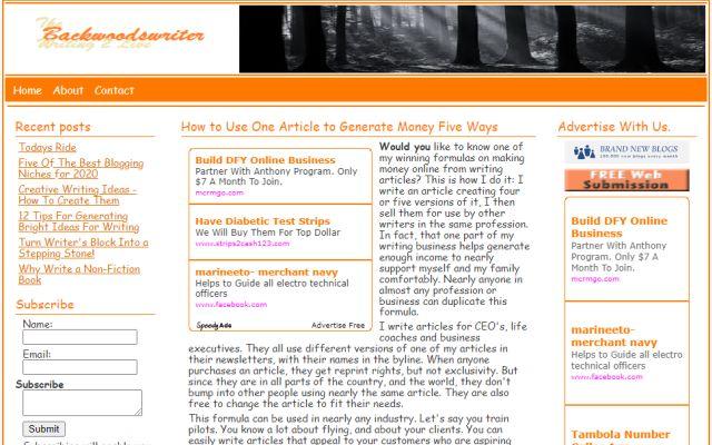 backwoodswriter.com