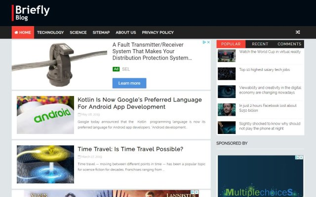 brieflyblog.com