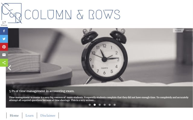 columnandrows.com