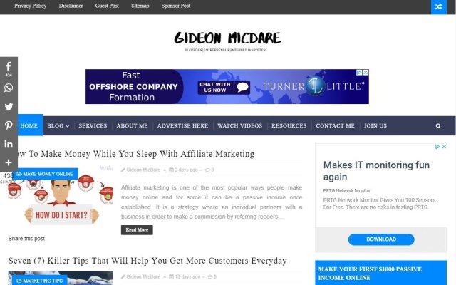 gideonmicdare.com