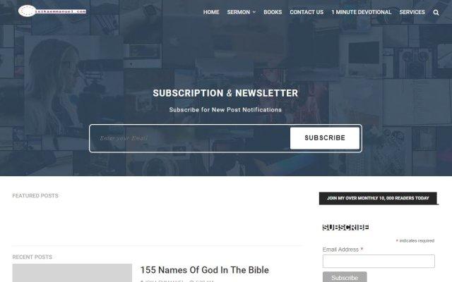 isikaemmanuel.com