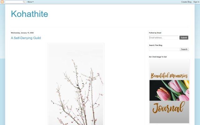 kohathite.com