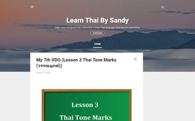 learnthaibysandy.com
