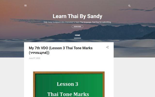 learnthaibysandy.com