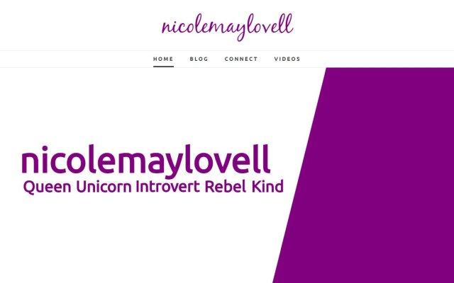 nicolemaylovell.com