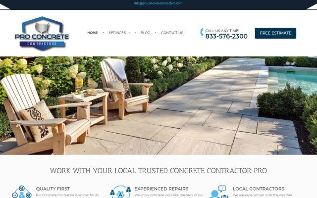 proconcretecontractors.com