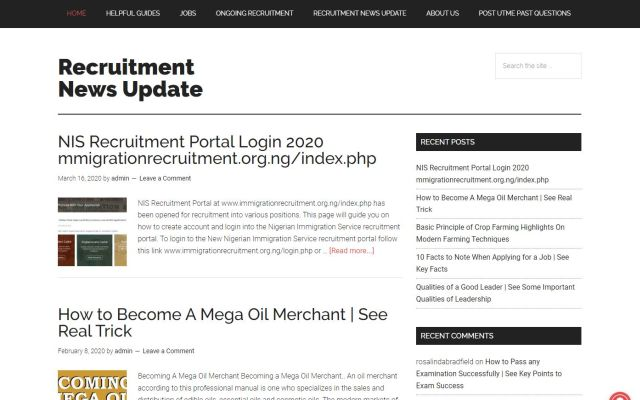 recruitmentnewsupdate.com