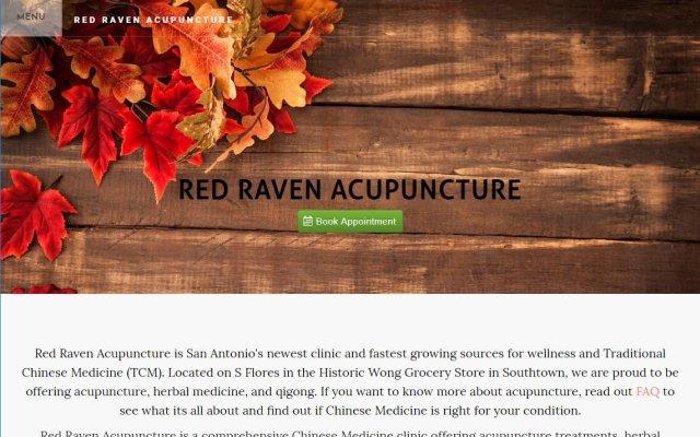 redravenacupuncture.com