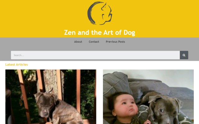 zenandtheartofdog.com