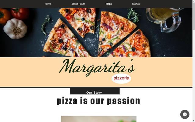 margaritaspizzeria.com