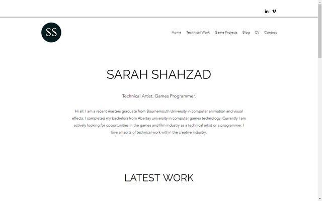sarahshahzad.com
